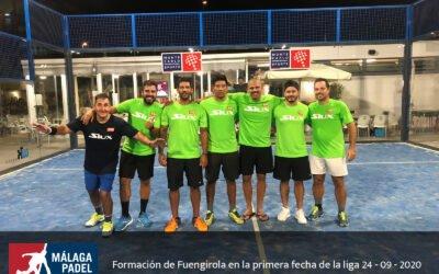 Buen comienzo para nuestro equipo en Málaga Padel Tour